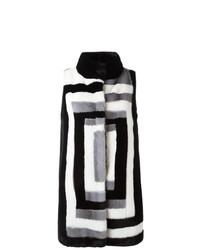 Liska Sleeveless Mink Fur Coat