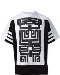 Ktz geometric print t shirt medium 68184
