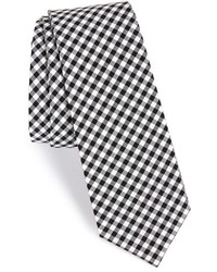 Check cotton tie medium 200755