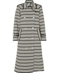 Sonia Rykiel Striped Cotton Blend Coat