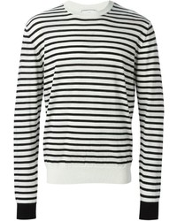 Alexandre mattiussi striped sweater medium 185928
