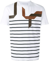 Abstract striped t shirt medium 6457782