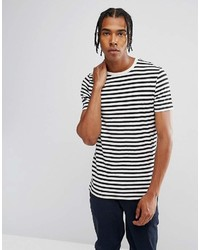 Asos Design Stripe Muscle T Shirt