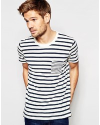 Selected Homme Stripe T Shirt