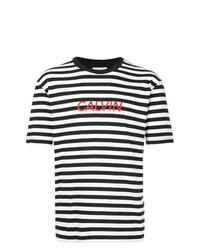 CK Calvin Klein Logo Stripe T Shirt