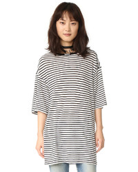 R13 oversized striped boyfriend tee medium 1159313