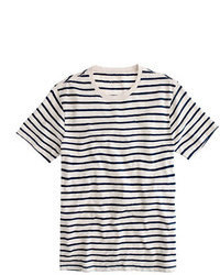 J.Crew Slub Cotton Deck Striped T Shirt
