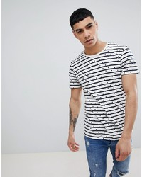 Jefferson Striped Dotted T Shirt