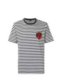 Diesel Striped Patch T Shirt