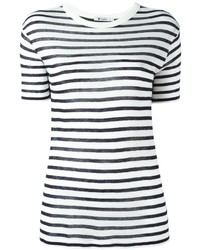 T by striped t shirt medium 1159342