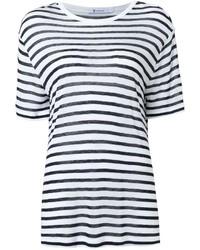 T by striped t shirt medium 1159347