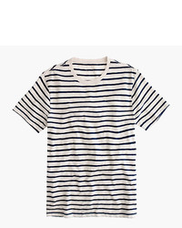 Tall deck stripe t shirt medium 709902