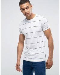French Connection Yard Dye Thin Stripe T Shirt