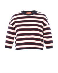 Multi stripe sweater medium 341147