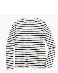Long sleeve deck striped t shirt medium 1292534