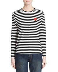 Comme des Garcons Play Stripe Cotton Tee