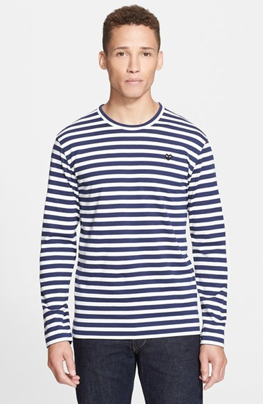 a1bcd6a8 Comme des Garcons Play Stripe T Shirt, £105 | Nordstrom | Lookastic UK