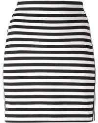 MICHAEL Michael Kors Michl Michl Kors Striped Mini Skirt