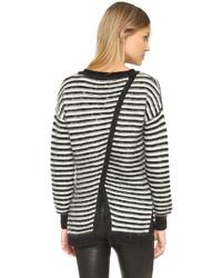 Worth striped sweater medium 386303