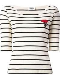 Sonia by striped t shirt medium 55495