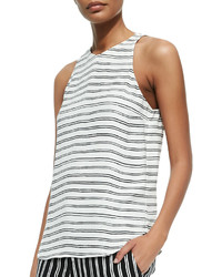 Anise sleeveless striped top medium 186444