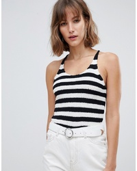 Mango Stripe Knitted Top