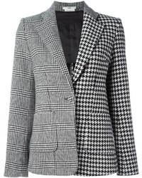 Houndstooth pattern blazer medium 426449