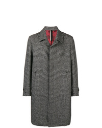Low Brand Houndstooth Patterned Coat