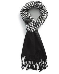 The Rail Houndstooth Ombr Scarf