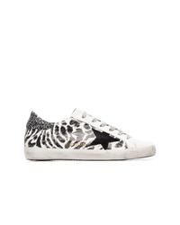 Golden Goose Deluxe Brand Leopard Print Sneakers