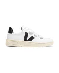 Veja V Lock Leather Sneakers