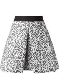 Leopard mini skirt medium 17262