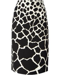 Leopard print pencil skirt medium 202935
