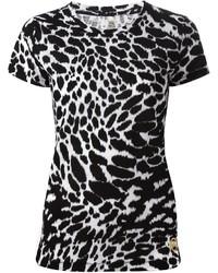 Michl michl kors animal print t shirt medium 253941