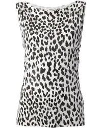 Leopard print vest top medium 96516