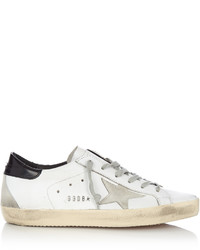 Super star low top leather and suede trainers medium 1213429