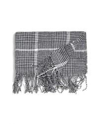 Prince of wales plaid knit scarf medium 147178