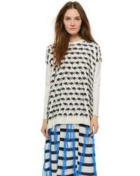 Long sleeve crew neck sweater medium 183529