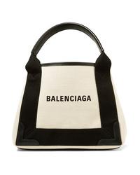 Balenciaga Med Canvas Tote