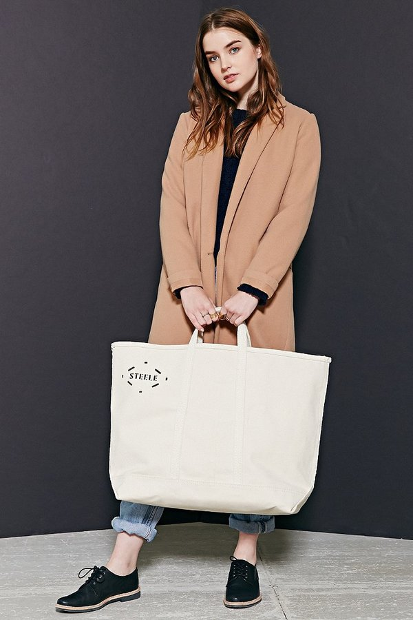 Urban Outfitters Steele Natural Canvas Tote Bag   Where to buy   how ... 497e52138b