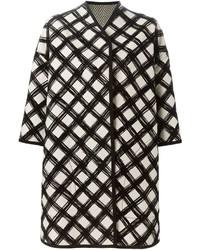 Grid print coat medium 1159567