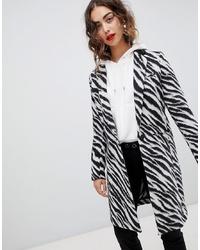 Mango Zebra Print Coat