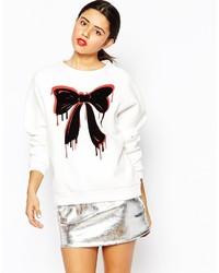 Love Moschino Bleeding Bow Sweatshirt