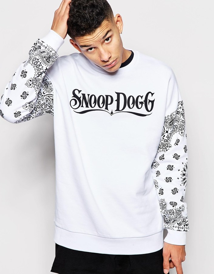 2dc75f648534c Asos Brand Oversized Sweatshirt With Snoop Dogg Print, £42 | Asos ...