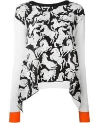 Stella McCartney Horse Print Jumper