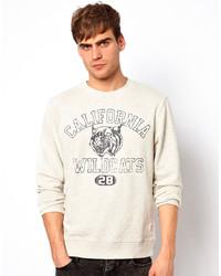 Jack & Jones Sweatshirt With Wildcats Print