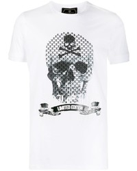 Philipp Plein Detailed Skull Print T Shirt