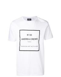 Andrea Crews Graphic Print T Shirt