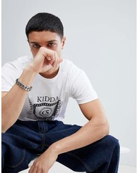 Kidda By Christopher Shannon Chain T Shirt In White
