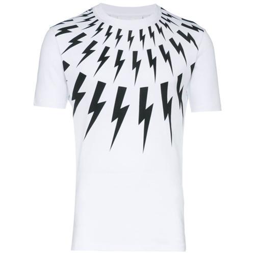 fce72f80 Neil Barrett Lightning Bolt T Shirt, £238 | farfetch.com | Lookastic UK